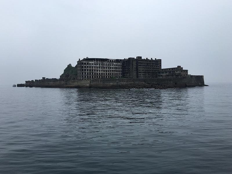 軍艦島全景
