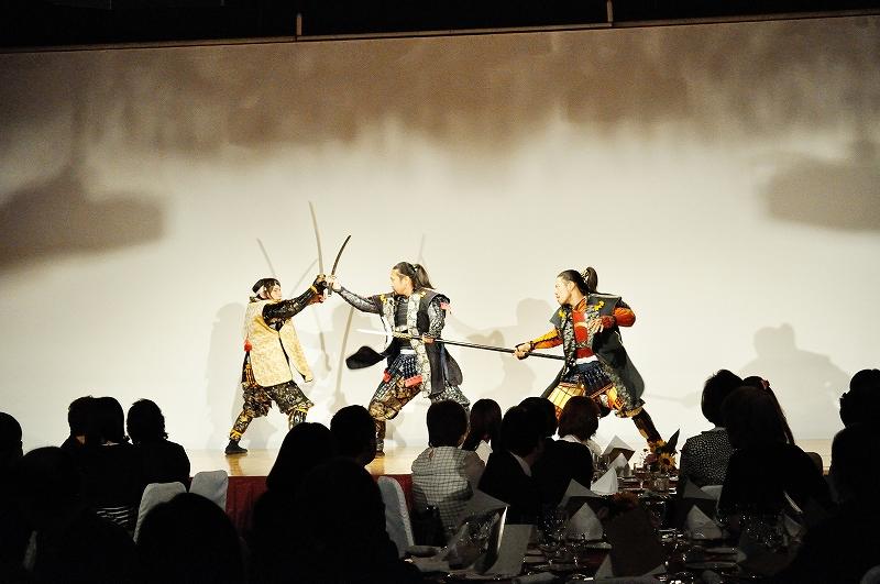 武将隊演舞